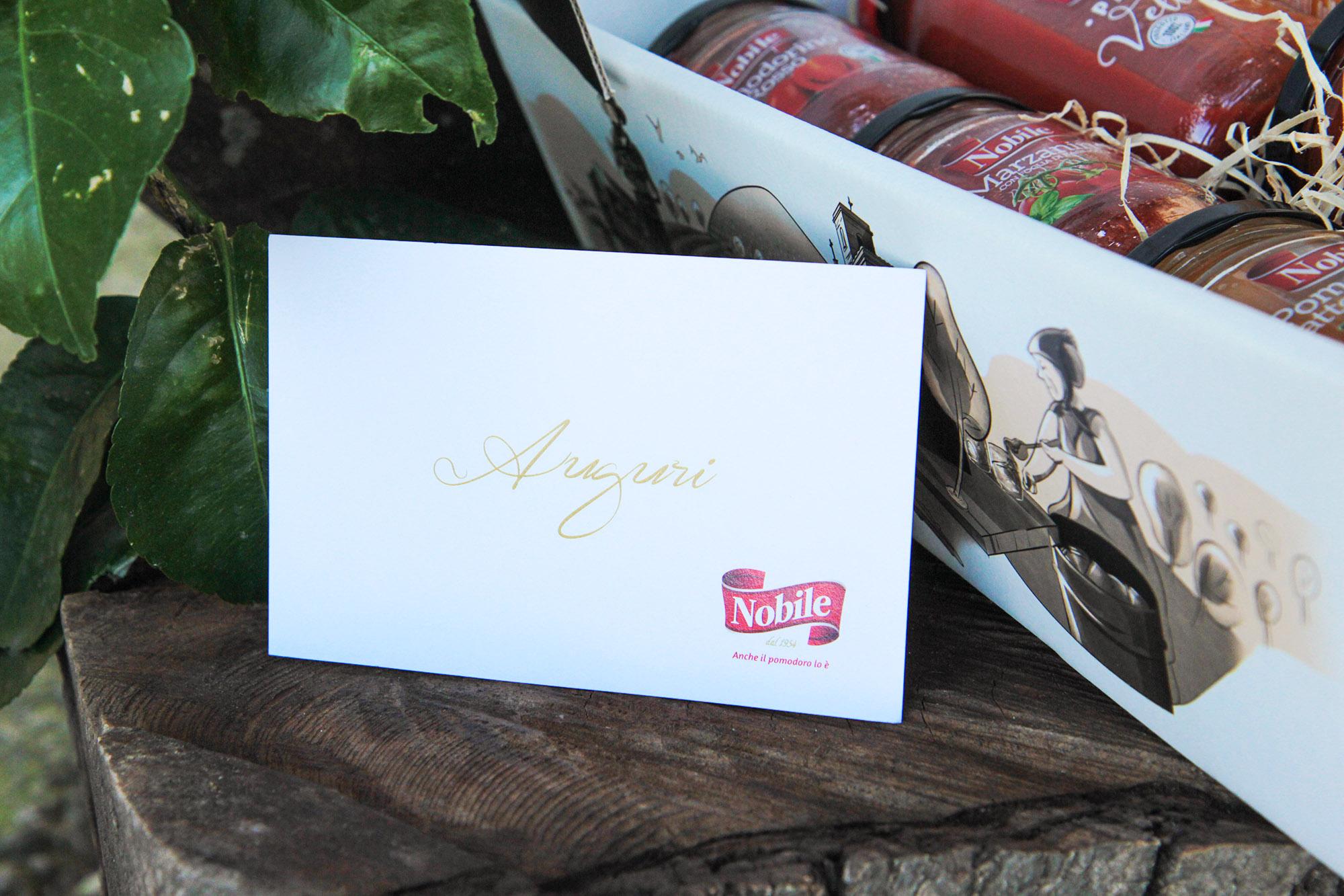 Famiglia Nobile - food packaging design